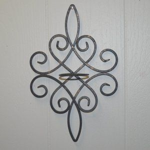 Other - Beautiful Metal Wall Candle Holder